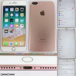 『中古即納』iPhone7Plus 256GB(ローズゴールド) ドコモ(docomo) Apple(アップル)(MN6P2J)|media-world