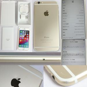 『中古即納』iPhone6 16GB(ゴールド) ソフトバンク(SoftBank) Apple(アップル)(MG492J)|media-world