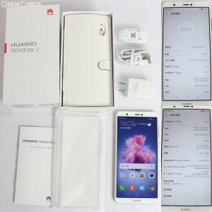 『中古即納』nova lite 2 FIG-LA1(ゴールド) その他 Huawei(ファーウェイ)(FIG-LA1)|media-world