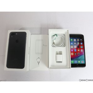 『中古即納』iPhone7Plus 32GB(ブラック) ソフトバンク(SoftBank) Apple(アップル)(MNR92J)|media-world