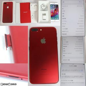 『中古即納』iPhone7Plus RED Special Edition 128GB(レッド) ドコモ(docomo) Apple(アップル)(MPR22J)|media-world