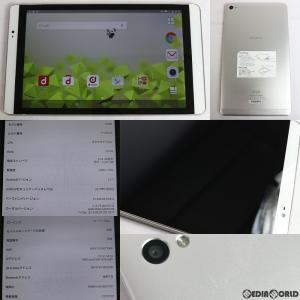 『中古即納』{Tablet}ドコモdtab compact d-02H(シルバー) docomo(ドコモ) Huawei(ファーウェイ)(AAH09617)|media-world