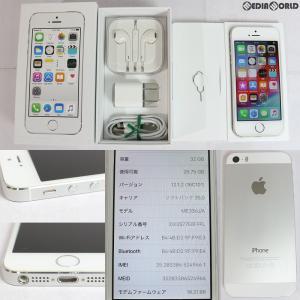 『中古即納』{SP}iPhone5s 32GB(シルバー) ソフトバンク(SoftBank) Apple(アップル)(ME336J)|media-world