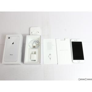『中古即納』{SP}iPhone8 256GB(シルバー) au(エーユー) Apple(アップル)(MQ852J)|media-world