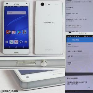 『中古即納』{SP}Xperia Z3 Compact SO-02G(ホワイト) ドコモ(docomo) ソニーモバイル(ASO89933)|media-world