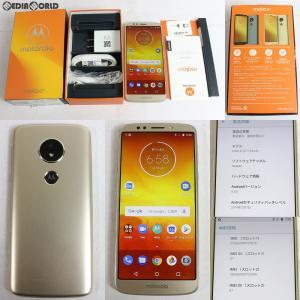『中古即納』{SP}Moto E5(ファインゴールド) SIMフリー Motorola(モトローラ)(PACH0014JP)|media-world