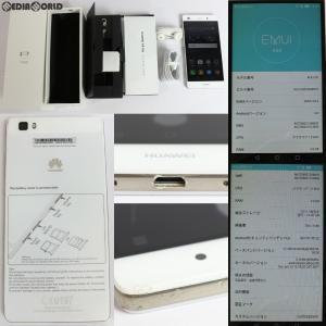 『中古即納』{SP}P8 lite(ホワイト) その他 Huawei(ファーウェイ)(ALE-L02-WHITE)|media-world