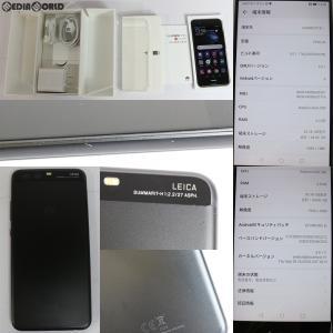 『中古即納』{SP}HUAWEI P10 VTR-L29B(グラファイトブラック) その他 Huawei(ファーウェイ)(51091NNE)|media-world