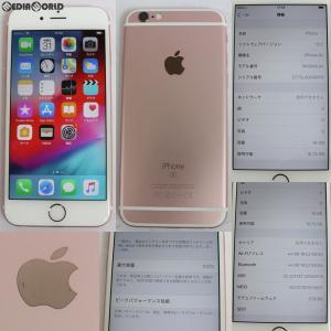 『中古即納』{SP}iPhone6s 16GB(ローズゴールド) ドコモ(docomo) Apple(アップル)(MKQM2J)|media-world