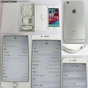 『中古即納』{SP}iPhone6 64GB(シルバー) ドコモ(docomo) Apple(アップル)(MG4H2J)|media-world