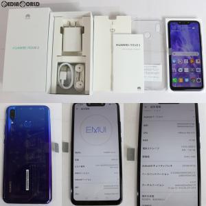 『中古即納』{SP}nova 3 PAR-LX9 デュアルSIM(アイリスパープル) その他 Huawei(ファーウェイ)(nova3)|media-world