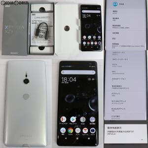 『中古即納』{SP}XperiaXZ3 SOV39(シルバー) au(エーユー) Sony Mobile(ソニーモバイル)(SOV39)|media-world