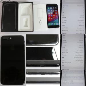 『中古即納』{SP}iPhone7Plus 256GB(ジェットブラック) au Apple(アップル)(MN6Q2J)|media-world