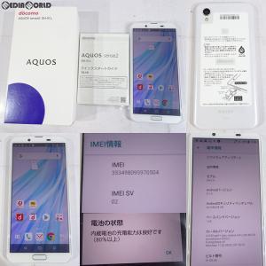 『中古即納』{SP}AQUOS sense2 SH-01L(シルキーホワイト) ドコモ(docomo) シャープ(HRO00265) media-world