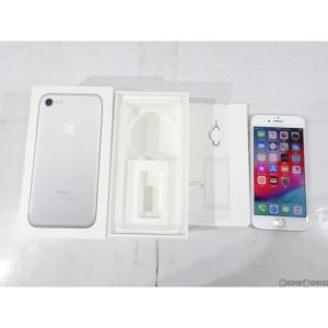 『中古即納』{SP}iPhone7 128GB(シルバー) ドコモ(docomo) Apple(アップル)(MNCL2J)|media-world
