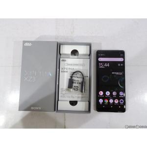 『中古即納』{SIM解除済}{SP}XperiaXZ3 SOV39(フォレストグリーン) au(エーユー) Sony Mobile(ソニーモバイル)(SOV39) media-world