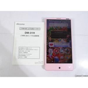 『中古即納』{SP}Disney Mobile on docomo DM-01H(スパークルピンク) ドコモ(docomo) シャープ(ASH88463)|media-world