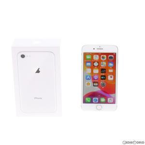 『中古即納』{SIM解除済}{SP}iPhone8 64GB(シルバー) SIMフリー Apple(アップル)(MQ792J)|media-world