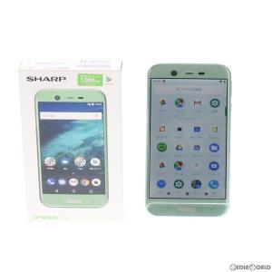 『中古即納』{SP}Android One X1(ミントグリーン) Y!mobile(ワイモバイル) SHARP(シャープ)(X1)|media-world