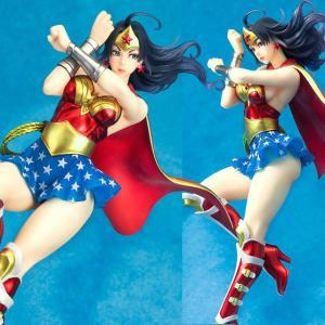 『中古即納』{未開封}{FIG}DC COMICS美少女 アーマード ワンダーウーマン(Wonder Woman) 1/7 完成品 フィギュア(DC018) コトブキヤ(20140424)|media-world