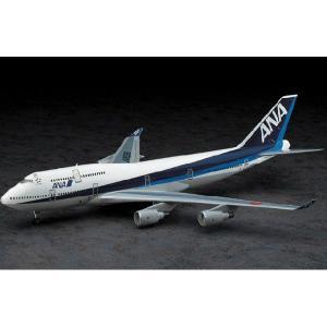 『新品即納』{PTM}10702 1/200 ANA ボーイング 747-400 最終生産 プラモデル ハセガワ(20140223)|media-world
