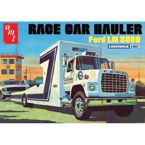 『新品即納』{PTM}AMT758 1/25 フォードLN8000 レースカーハウラー プラモデル AMT(20140604)|media-world