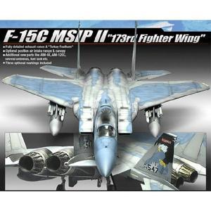 『新品即納』{PTM}AM12506 1/72 F-15C MSIP II 第173戦闘航空団 アカデミー(20140219)|media-world