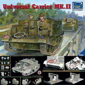 『新品即納』{PTM}RC35027 1/35 英ユニバーサルキャリアMk.II型兵員輸送車 プラモデル リッチモデルズ(20140308)|media-world