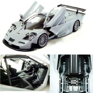 『新品即納』{PTM}1/24 マクラーレンF1 GTR 1997 スーパーカーシリーズNo.10 プラモデル アオシマ(20140329)|media-world