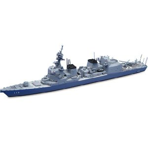 『新品即納』{PTM}1/700 ウォーターライン24 海上自衛隊護衛艦 DD-116 てるづき プラモデル アオシマ(20140329)|media-world