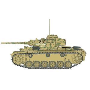 『新品即納』{PTM}CH6387 1/35ドイツ軍Pz.Kpfw.III III号戦車L型後期生産型(スマートキット) プラモデル サイバーホビー(20140321)|media-world