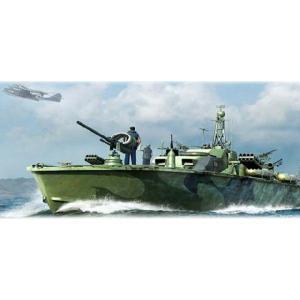 『新品即納』{PTM}64801 U.S.Navy エルコ80' PTボート後期型 プラモデル メリットインターナショナル(20140512)|media-world