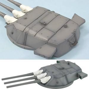 『新品即納』{PTM}SGF07 1/144 日本海軍 戦艦大和・武蔵 46cm主砲塔 組立キット ピットロード(20150712) media-world