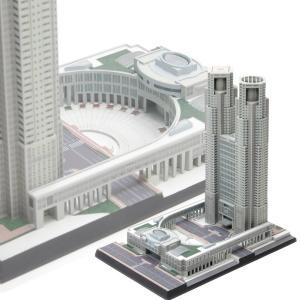『新品即納』{PTM}1/2000 東京都庁舎 プラモデル ウェーブ(WAVE)(20150724)|media-world