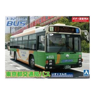 『中古即納』{PTM}1/32 バス No.35 東京都交通局バス(いすゞエルガ/ノンステップ 路線) アオシマ(20121031)|media-world