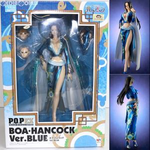 『中古即納』{未開封}{FIG}Portrait.Of.Pirates P.O.P NEO-EX ボア・ハンコック Ver.BLUE ONE PIECE(ワンピース) 完成品 フィギュア メガハウス(20130331)|media-world
