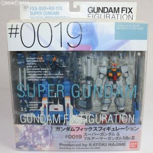 『中古即納』{FIG}GUNDAM FIX FIGURATION #0019 スーパーガンダム&フル...