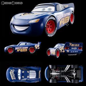『新品即納』{TOY}超合金 1/18 Cars Fabulous LIGHTNING McQUEEN(カーズ ファビュラス ライトニング・マックィーン) カーズ/クロスロード 完成トイ バンダイ|media-world