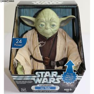 『中古即納』{TOY}Electronic Ask Yoda(ヨーダ) STAR WARS(スター・ウォーズ) 完成トイ(72410) ハズブロ(20041231)|media-world
