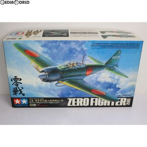 『中古即納』{PTM}エアークラフトシリーズ No.9 1/32 三菱 海軍零式艦上戦闘機52型 プラモデル(60309) タミヤ(20010630)|media-world