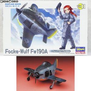 『中古即納』{PTM}たまごひこーき フォッケウルフ Fw190A プラモデル(TH11) ハセガワ(20080630)|media-world