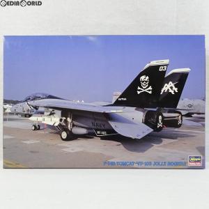 『中古即納』{PTM}1/72 F-14B トムキャット VF-103 ジョリー ロジャース K136 プラモデル(04096) ハセガワ(19990630)|media-world