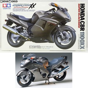 『中古即納』{PTM}オートバイシリーズ No.70 1/12 Honda(ホンダ) CBR1100XXスーパーブラックバード プラモデル(14070) タミヤ(19971130)|media-world