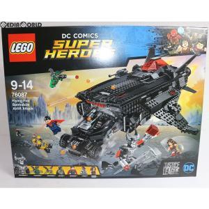 『中古即納』{TOY}LEGO(レゴ) SUPER HEROES(スーパーヒーローズ) フライングフォックス:バットモービル・エアーリフト・アタック DC Comics (76087) LEGO(レゴ)|media-world