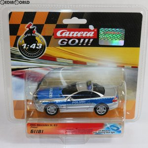 『中古即納』{未開封}{TOY}Carrera GO!!! 1/43 AMG メルセデス SL 63 Polizei スロットカー 完成トイ(20061181) 京商(20141231)|media-world