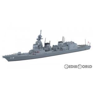 『予約安心出荷』{PTM}1/700 ウォーターライン No.35 海上自衛隊 護衛艦 あさひ DD-119 プラモデル アオシマ(2020年1月)|media-world