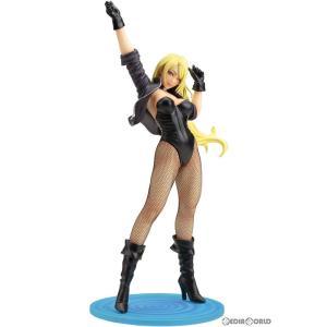 『中古即納』{未開封}{FIG}DC COMICS美少女 ブラックキャナリー 2nd Edition DC UNIVERSE(DCユニバース) 1/7 完成品 フィギュア(DC051) コトブキヤ(20200808) media-world