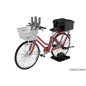 『予約安心出荷』{PTM}LittleArmory(リトルアーモリー) 1/12 LM005 通学自転車(指定防衛校用)マルーン 完成品 フィギュア TOMYTEC(トミーテック)(2020年10月)|media-world