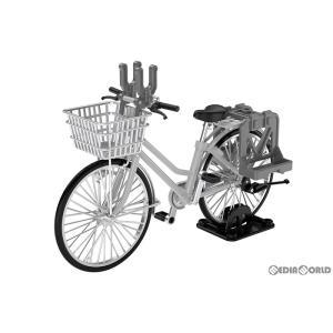 『予約安心出荷』{PTM}LittleArmory(リトルアーモリー) 1/12 LM006 通学自転車(指定防衛校用)シルバー 完成品 フィギュア TOMYTEC(トミーテック)(2020年10月)|media-world
