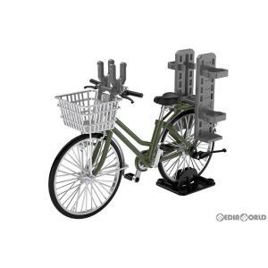 『予約安心出荷』{PTM}LittleArmory(リトルアーモリー) 1/12 LM007 通学自転車(指定防衛校用)オリーブドラブ 完成品 フィギュア TOMYTEC(トミーテック)|media-world